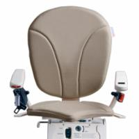 Beige AmeriGlide Platinum Stair Lift Chair Option